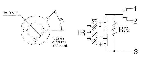 热释电传感器结构图