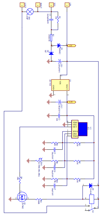 晶创和立热释电红外传感器am612 (编号:3094659)